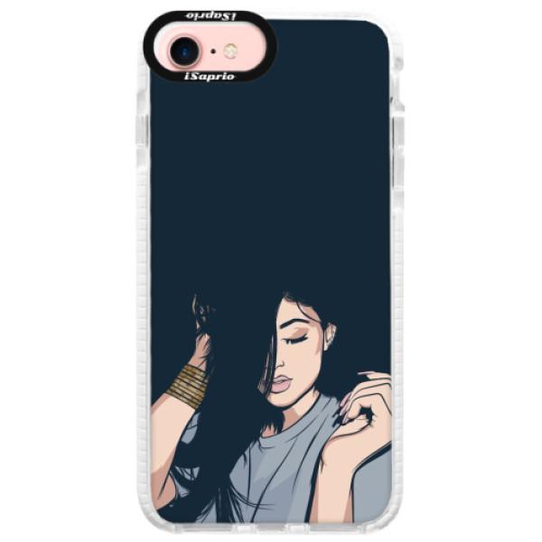 Silikonové pouzdro Bumper iSaprio - Swag Girl - iPhone 7