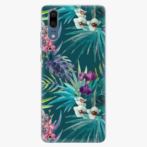 Plastový kryt iSaprio - Tropical Blue 01 - Huawei P20