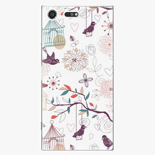 Plastový kryt iSaprio - Birds - Sony Xperia XZ Premium