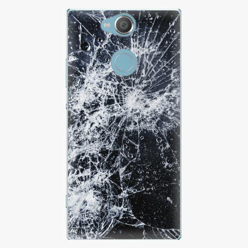 Plastový kryt iSaprio - Cracked - Sony Xperia XA2