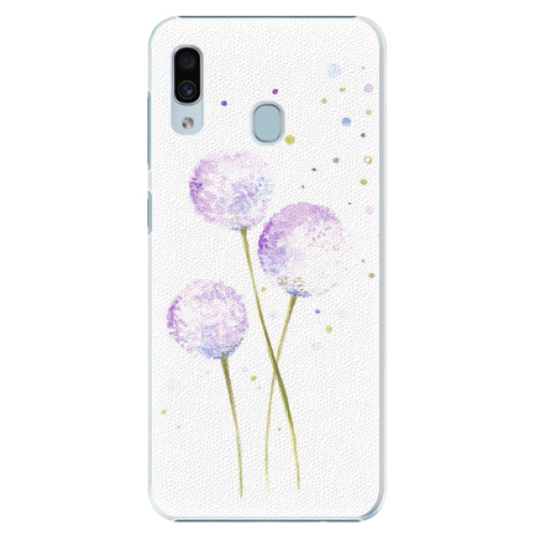 Plastové pouzdro iSaprio - Dandelion - Samsung Galaxy A20