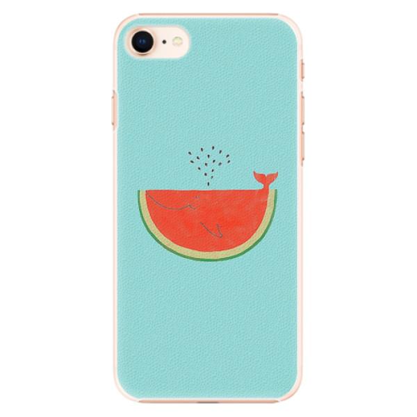 Plastové pouzdro iSaprio - Melon - iPhone 8