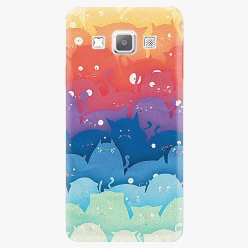 Plastový kryt iSaprio - Cats World - Samsung Galaxy A7