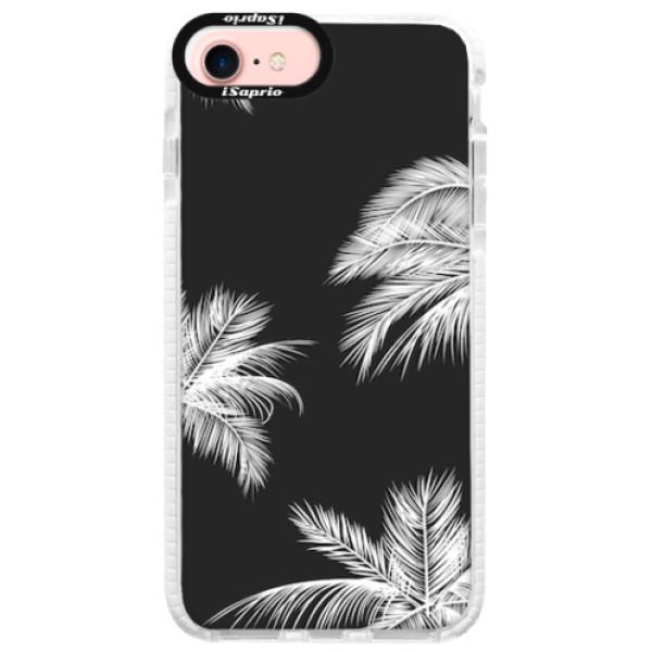 Silikonové pouzdro Bumper iSaprio - White Palm - iPhone 7