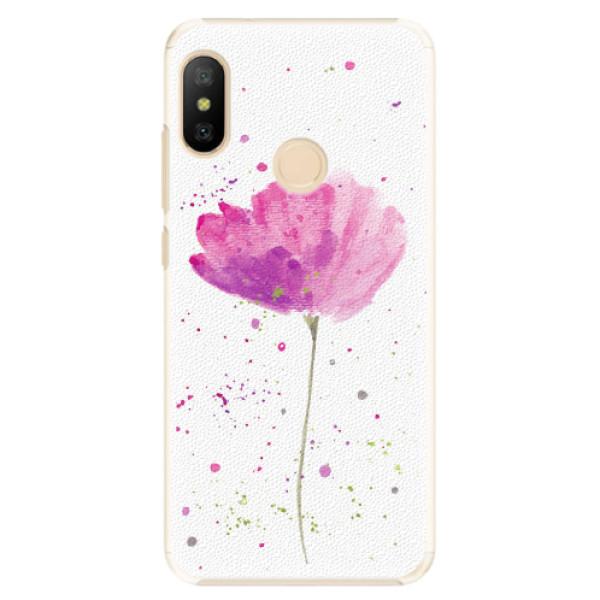 Plastové pouzdro iSaprio - Poppies - Xiaomi Mi A2 Lite