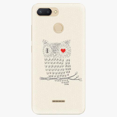 Silikonové pouzdro iSaprio - I Love You 01 - Xiaomi Redmi 6
