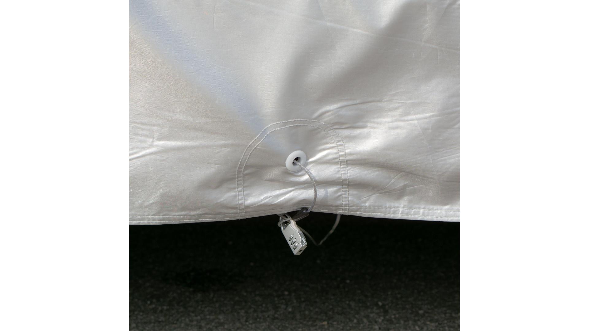 4CARS Anti hail car cover - cotton inside SUV XL
