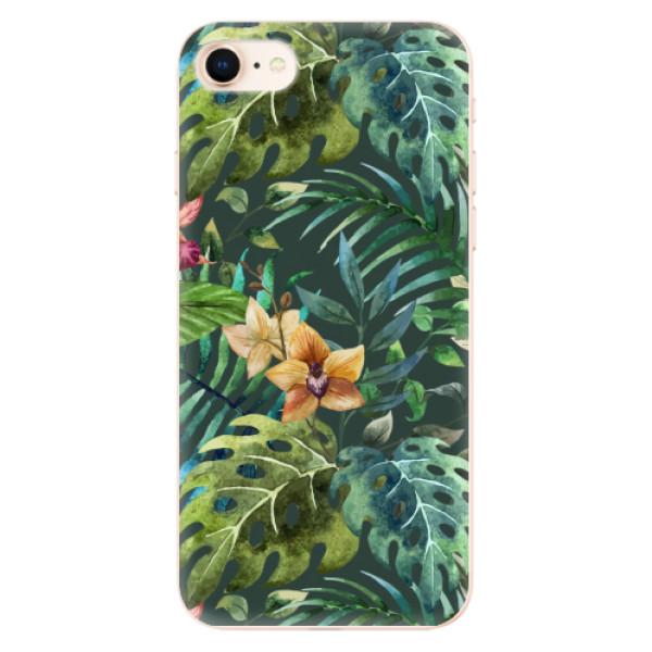 Odolné silikonové pouzdro iSaprio - Tropical Green 02 - iPhone 8