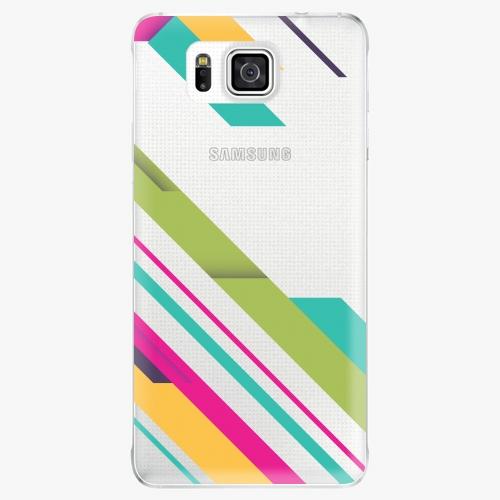 Plastový kryt iSaprio - Color Stripes 03 - Samsung Galaxy Alpha