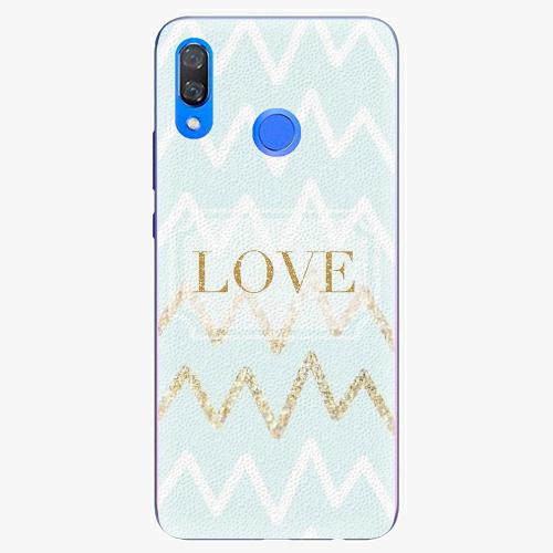 Plastový kryt iSaprio - GoldLove - Huawei Y9 2019