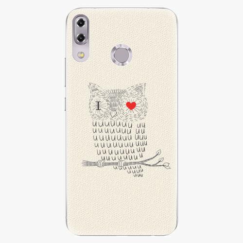 Plastový kryt iSaprio - I Love You 01 - Asus ZenFone 5Z ZS620KL