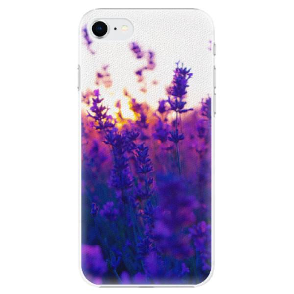 Plastové pouzdro iSaprio - Lavender Field - iPhone SE 2020
