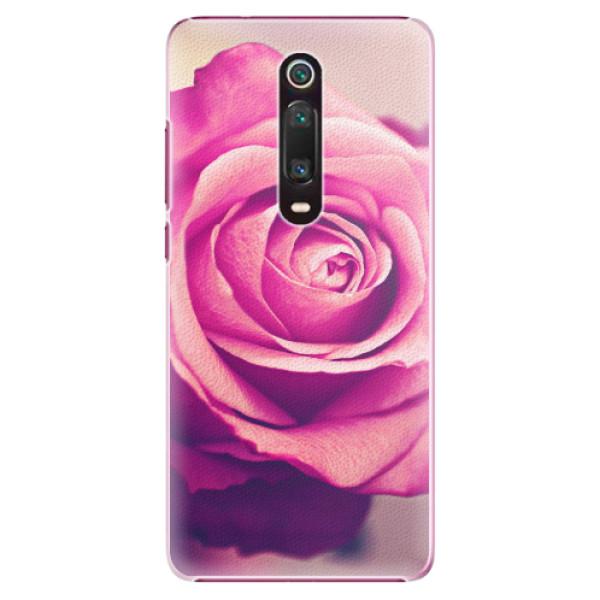 Plastové pouzdro iSaprio - Pink Rose - Xiaomi Mi 9T