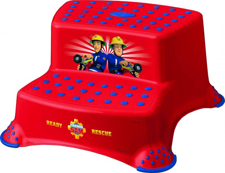 keeeper-stolicka-schudky-s-protiskluzovou-funkci-fireman-sam-cervene