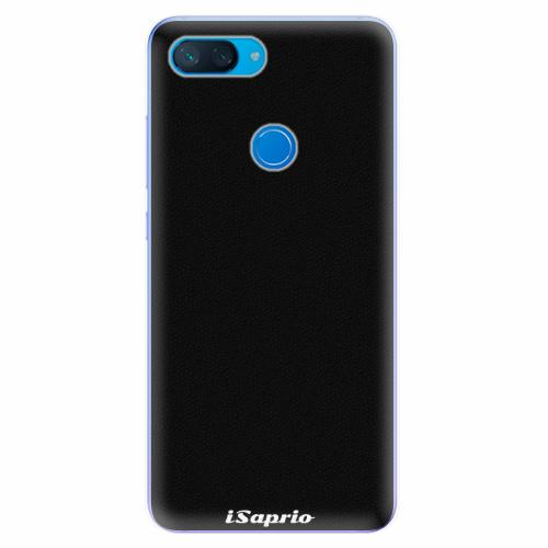 Silikonové pouzdro iSaprio - 4Pure - černý - Xiaomi Mi 8 Lite