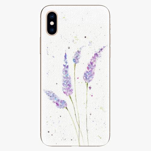 Silikonové pouzdro iSaprio - Lavender - iPhone XS