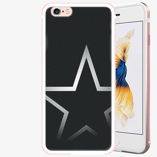 Plastový kryt iSaprio - Star - iPhone 6/6S - Rose Gold