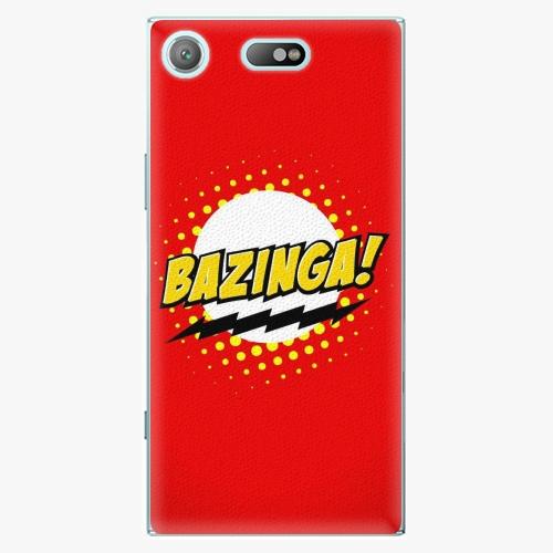 Plastový kryt iSaprio - Bazinga 01 - Sony Xperia XZ1 Compact