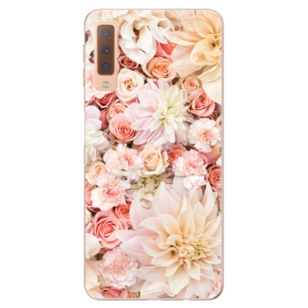 Odolné silikonové pouzdro iSaprio - Flower Pattern 06 - Samsung Galaxy A7 (2018)