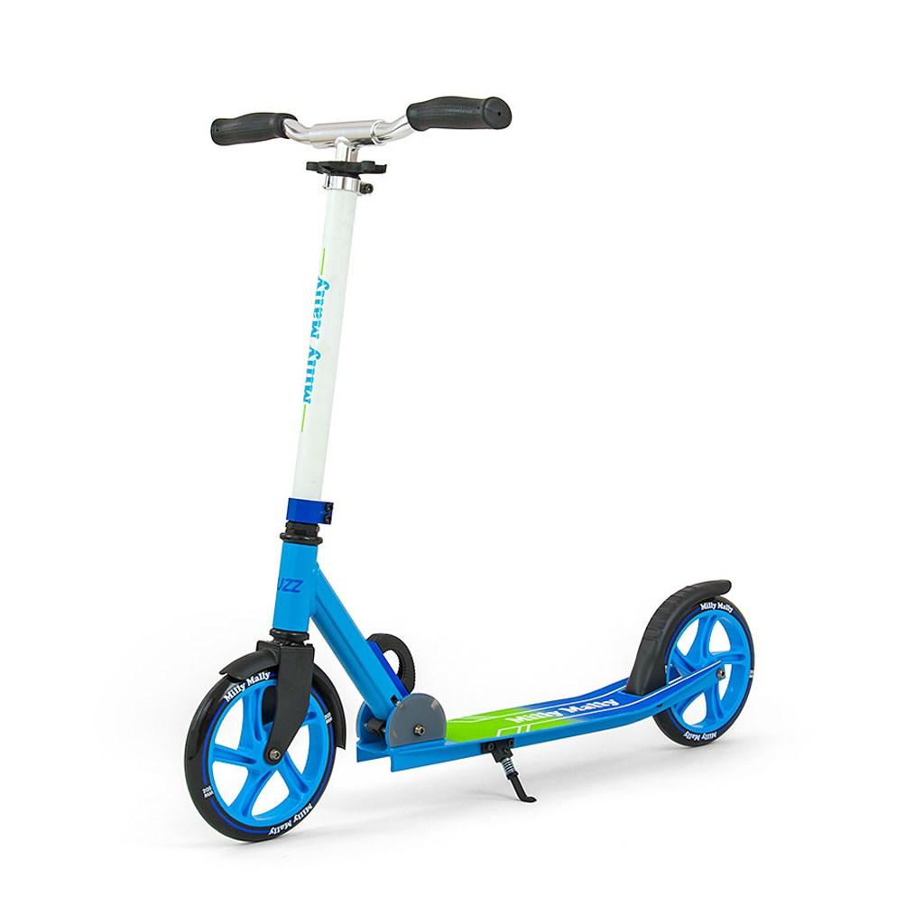 Dětská koloběžka Milly Mally BUZZ Scooter - blue - modrá