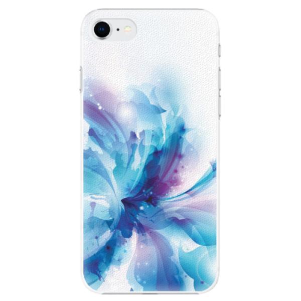 Plastové pouzdro iSaprio - Abstract Flower - iPhone SE 2020