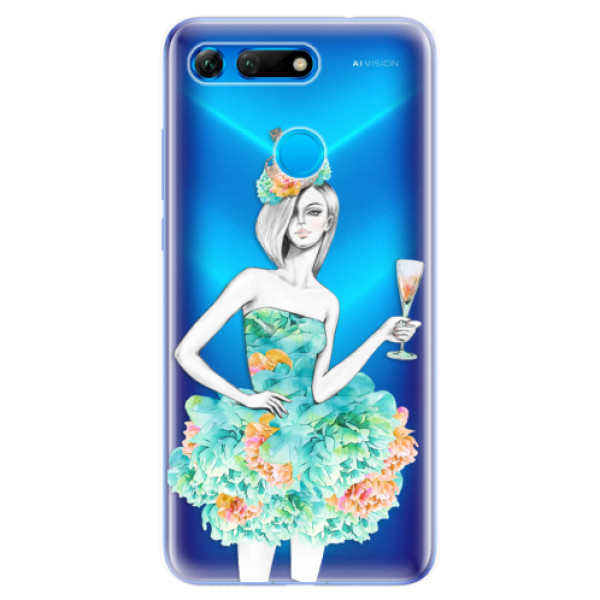 Odolné silikonové pouzdro iSaprio - Queen of Parties - Huawei Honor View 20