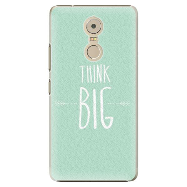 Plastové pouzdro iSaprio - Think Big - Lenovo K6 Note