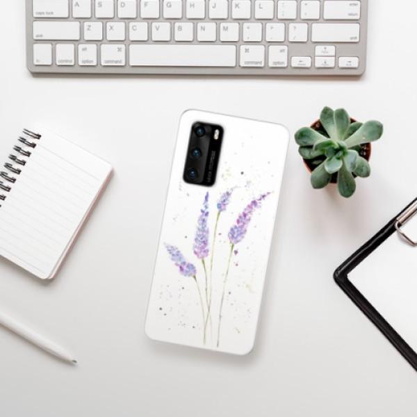 Odolné silikonové pouzdro iSaprio - Lavender - Huawei P40