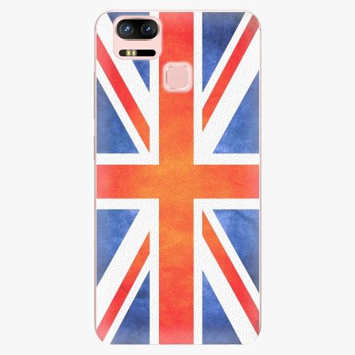 Plastový kryt iSaprio - UK Flag - Asus ZenFone 3 Zoom ZE553KL