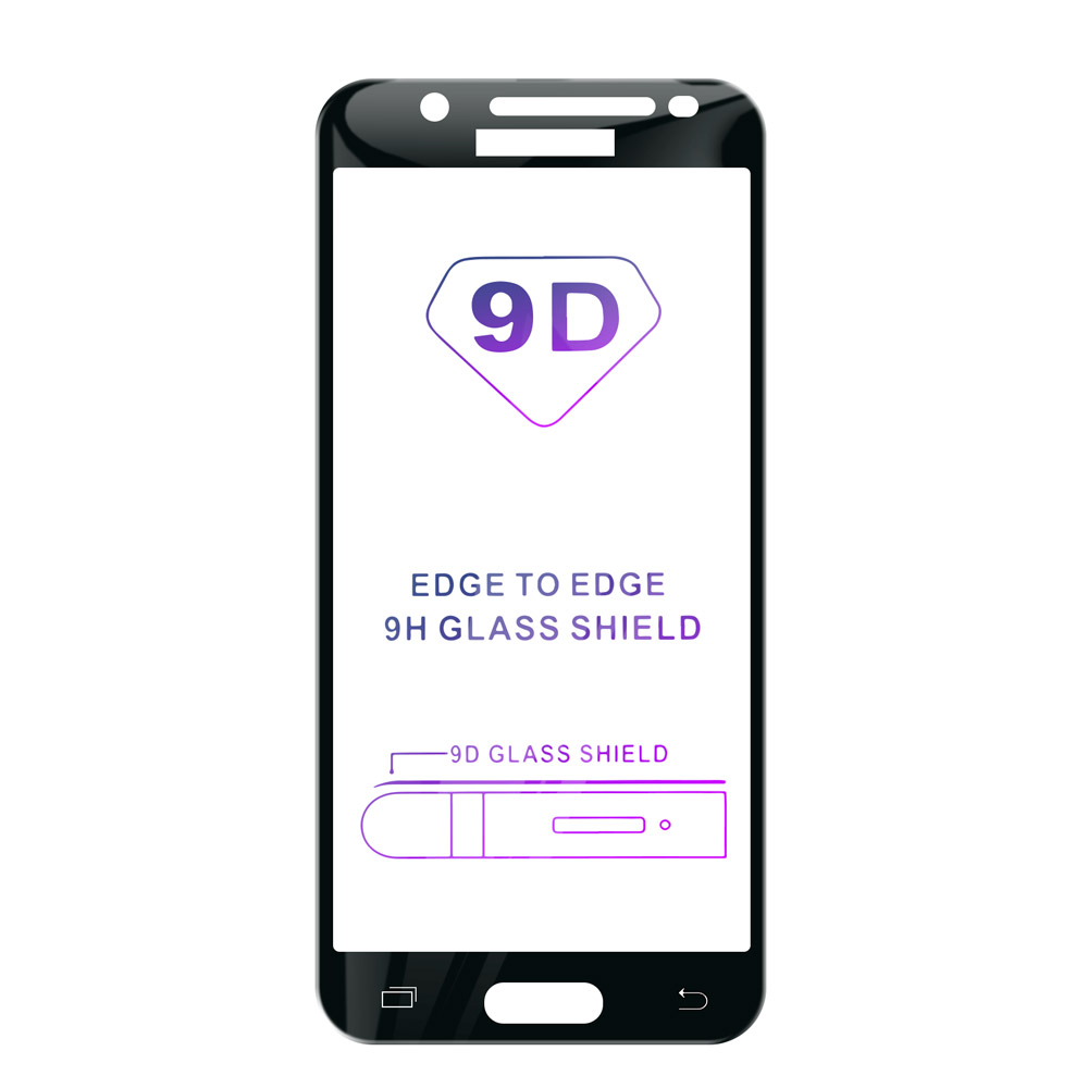 Tvrzené sklo iSaprio 9D BLACK pro Samsung Galaxy J3 2016