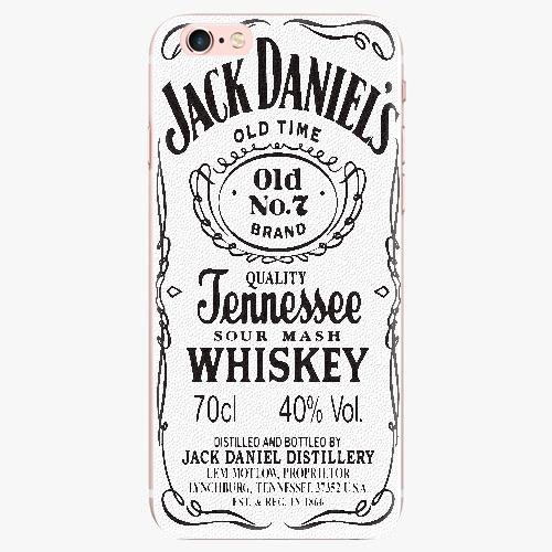 Silikonové pouzdro iSaprio - Jack White - iPhone 7