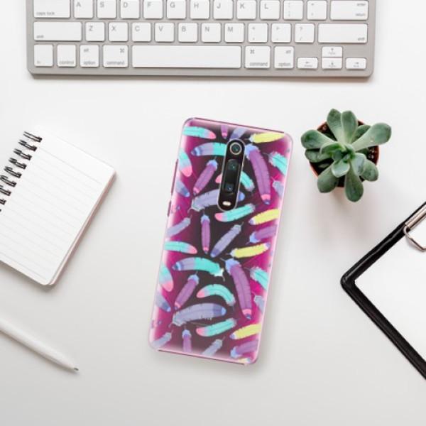 Plastové pouzdro iSaprio - Feather Pattern 01 - Xiaomi Mi 9T