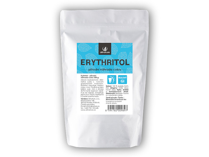 Allnature Erythritol 500g