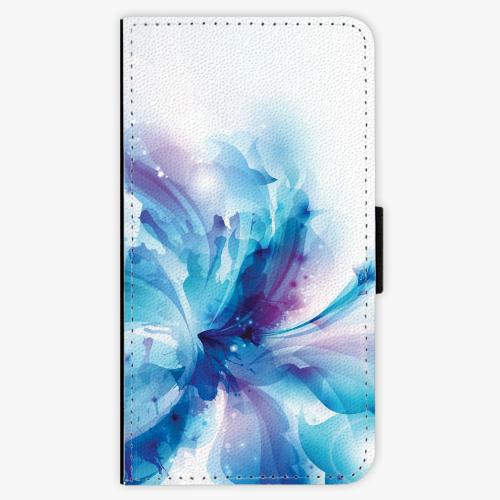 Flipové pouzdro iSaprio - Abstract Flower - Samsung Galaxy A3