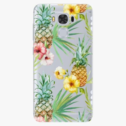 Plastový kryt iSaprio - Pineapple Pattern 02 - Asus ZenFone 3 Max ZC553KL