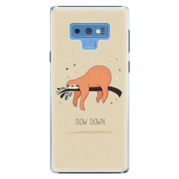 Plastové pouzdro iSaprio - Slow Down - Samsung Galaxy Note 9