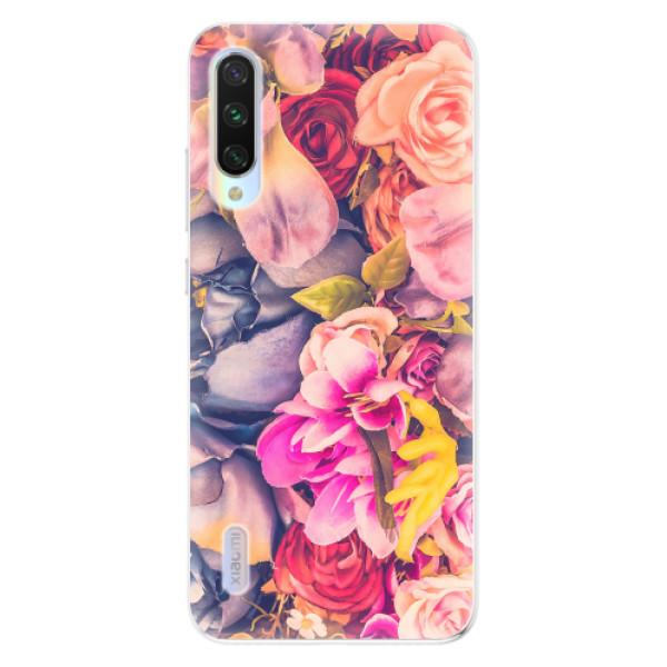 Odolné silikonové pouzdro iSaprio - Beauty Flowers - Xiaomi Mi A3