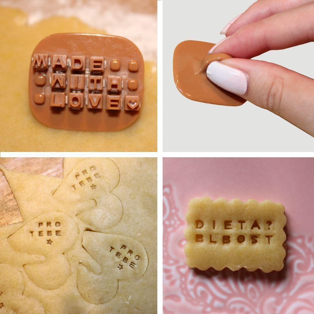 Razítka na sušenky - písmena