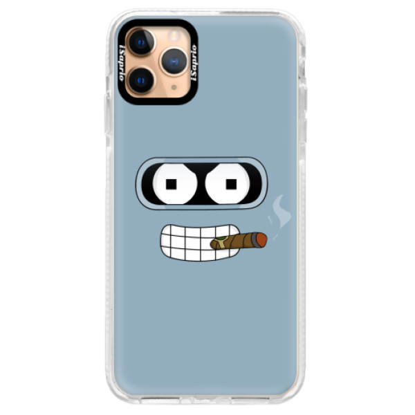 Silikonové pouzdro Bumper iSaprio - Bender - iPhone 11 Pro Max
