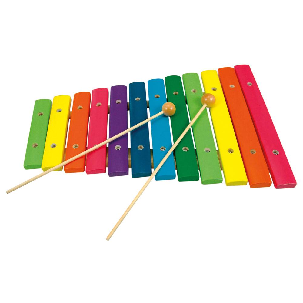 Dřevěný xylofon BINO (12 tónů)