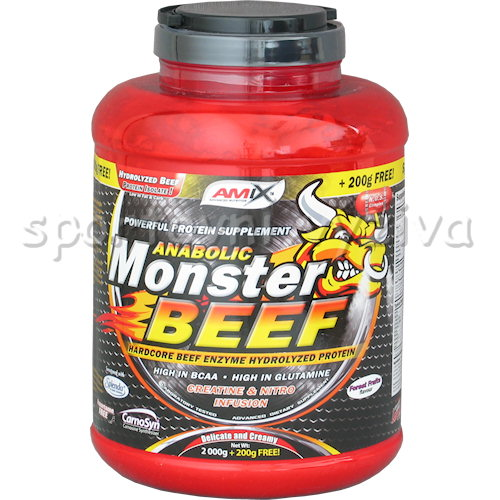 Anabolic Monster BEEF 90% Protein - 2200g-vanilla-lime