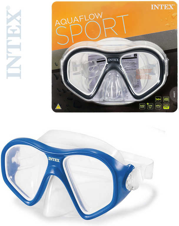 INTEX Brýle potápěčské Reef Rider na potápění do vody 2 barvy 55977