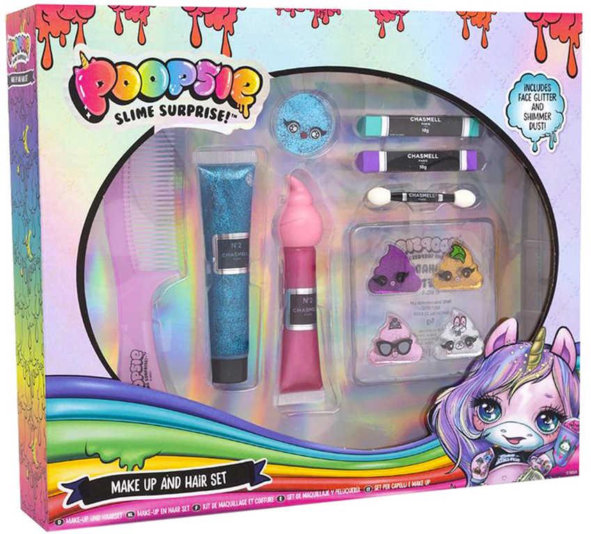Poopsie Slime Surprise sada křídy na vlasy a malovátka dětská kosmetika
