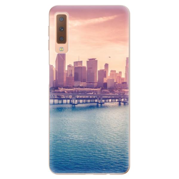 Odolné silikonové pouzdro iSaprio - Morning in a City - Samsung Galaxy A7 (2018)