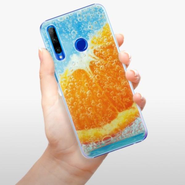 Plastové pouzdro iSaprio - Orange Water - Huawei Honor 20 Lite