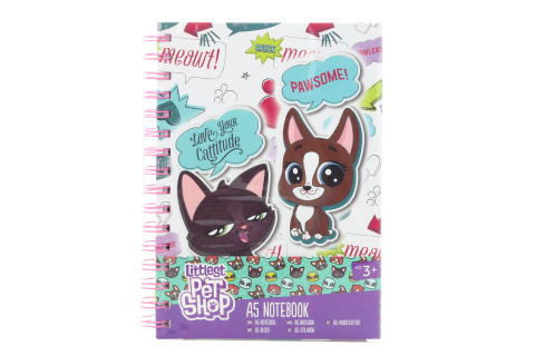 Littlest Pet Shop zápisník A5