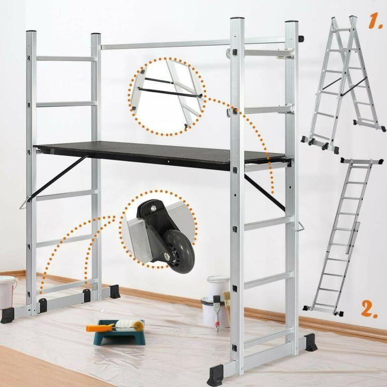 Stavební lešení s nastavitelnou výškou 46 - 102 cm