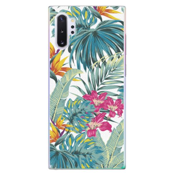 Plastové pouzdro iSaprio - Tropical White 03 - Samsung Galaxy Note 10+