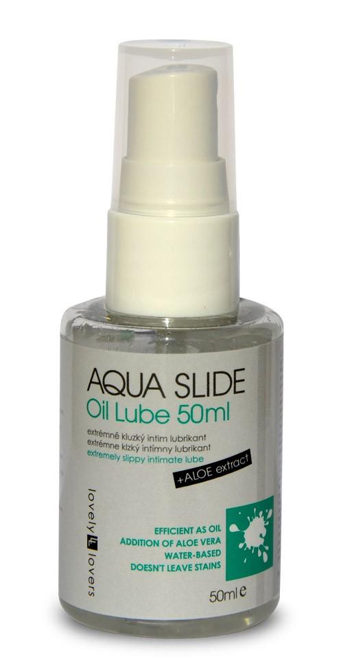 Lubrikační gel Aqua Slide Oil Lube 50ml - Lovely Lovers