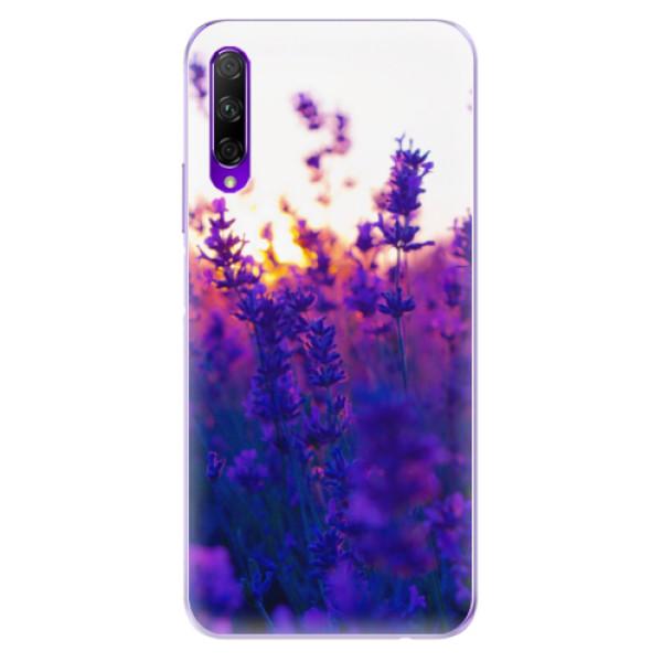 Odolné silikonové pouzdro iSaprio - Lavender Field - Honor 9X Pro